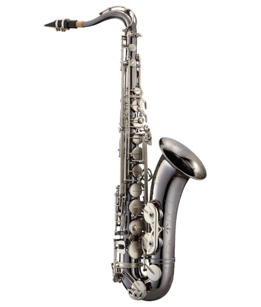 Antigua Antigua PowerBell Bb Tenor Sax, Black Nickel Body , CN Keys