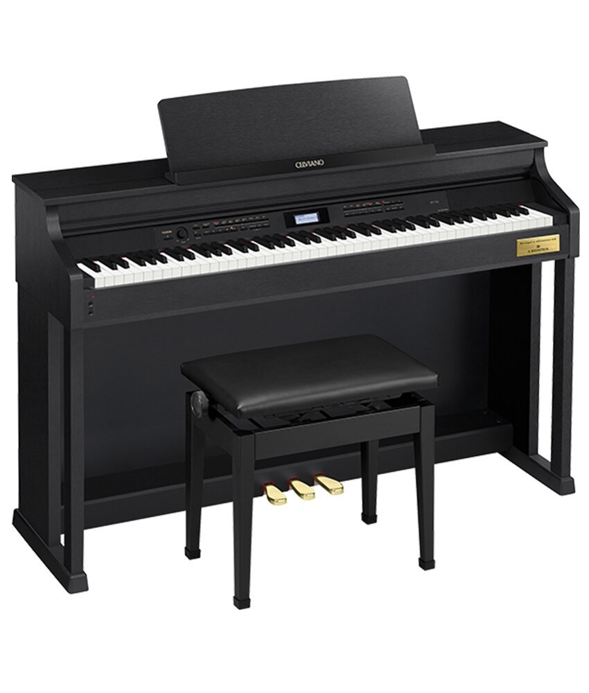 Casio Celviano AP-710BK Digital Piano with Bench - Black