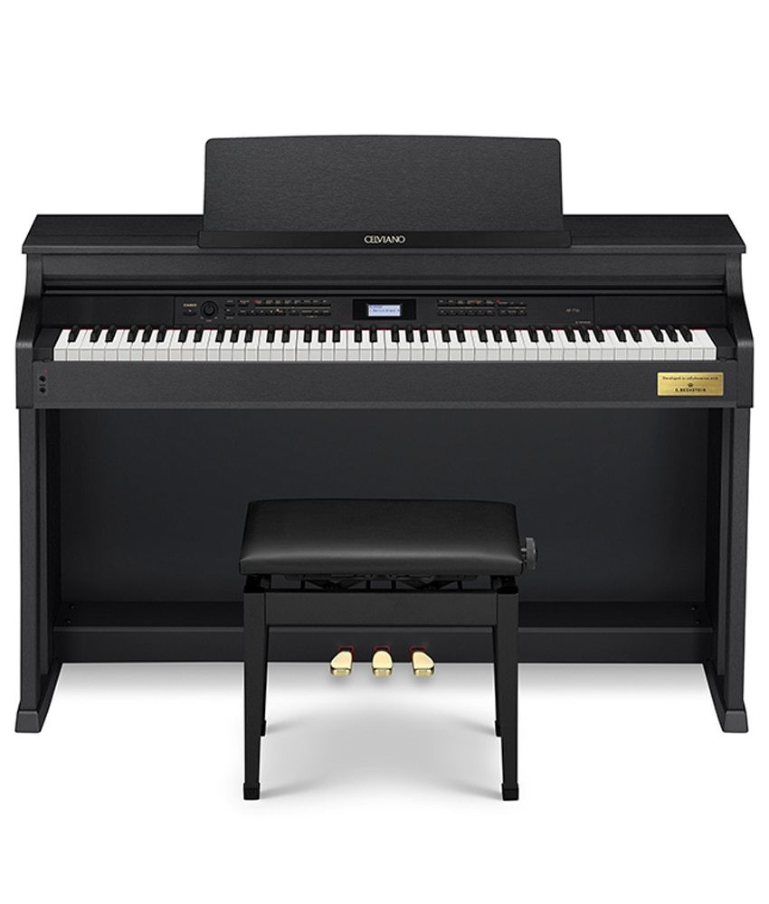 Casio Celviano AP-710BK Digital Piano with Bench - Black