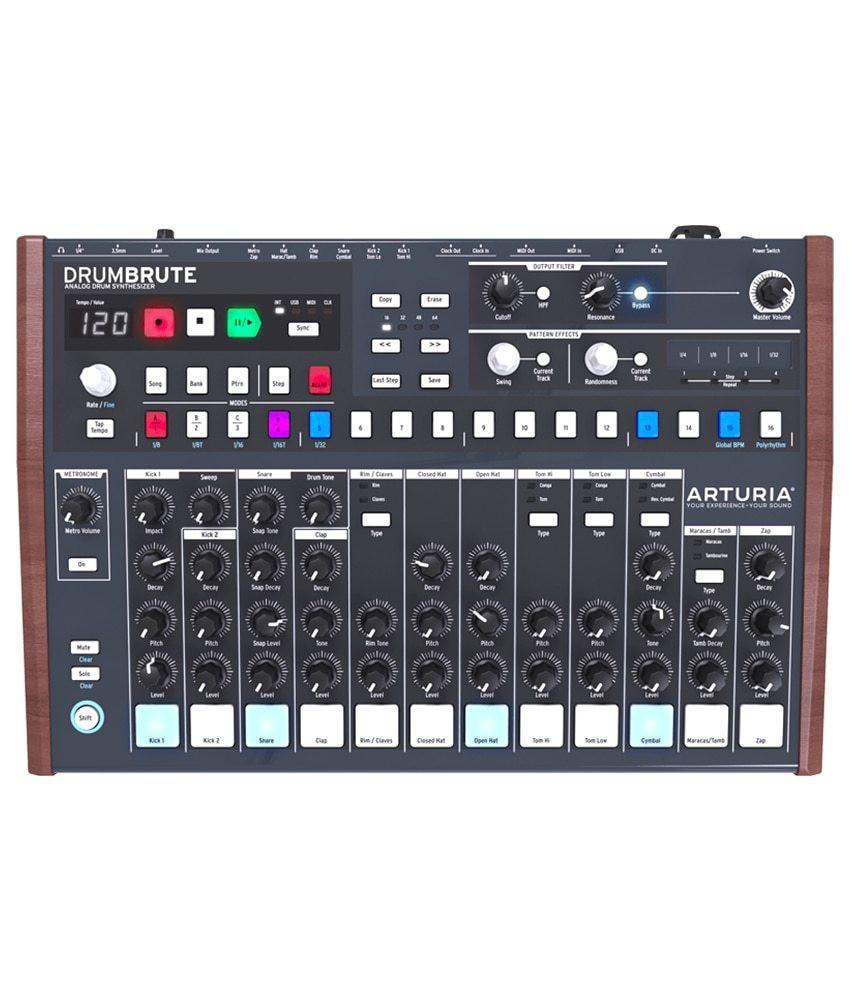 Arturia Arturia DrumBrute Analog Drum Machine