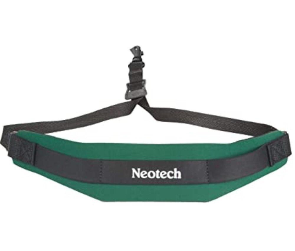 Neotech Neotech Green Swivel Hook Sax Strap HK-GREEN
