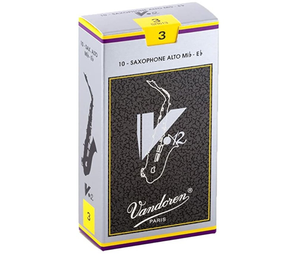 Vandoren Vandoren V12 #3 Alto Sax Reeds 10 pack