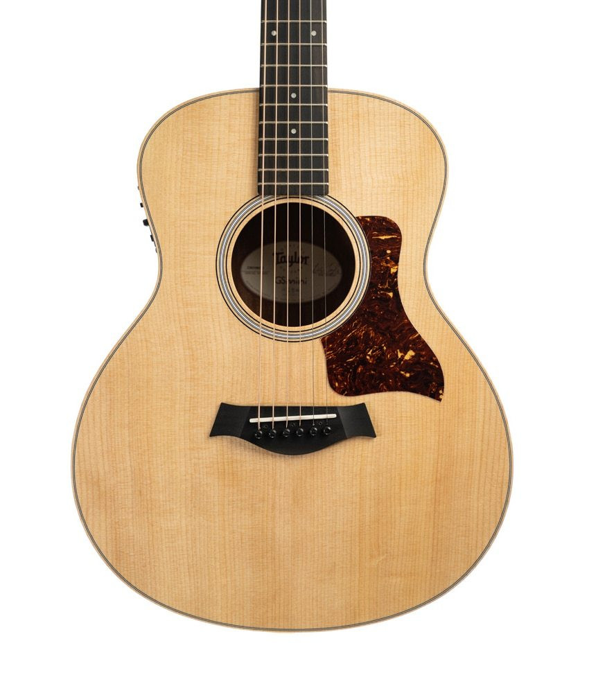 Taylor Guitars Taylor GSMini-e Limited Edition, Quilted Sapele Acoustic-Electric Guitar- Natural