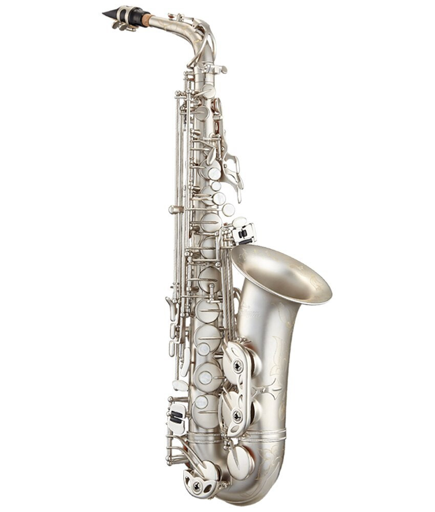 Antigua Antigua PowerBell AS4248CN Alto Saxophone, Classic Nickel
