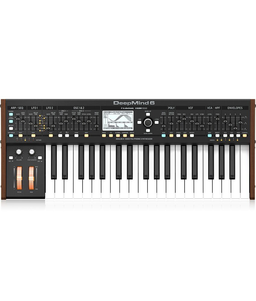 Behringer Behringer DeepMind 6, 37-key 6-voice Analog Synthesizer