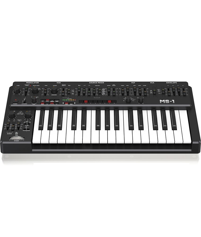 Behringer Behringer MS-1-BK Analog Synthesizer with Handgrip - Black