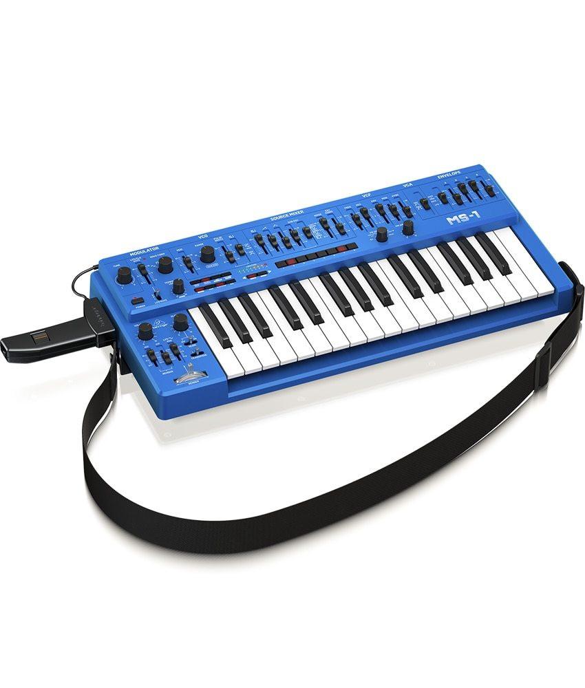Behringer Behringer MS-1-BU Analog Synthesizer with Handgrip - Blue