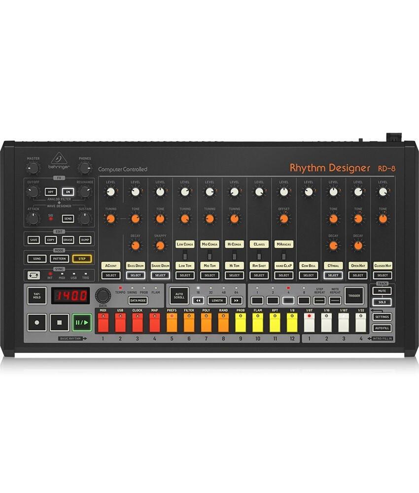 Behringer Behringer Rhythm Designer RD-8 Analog Drum Machine