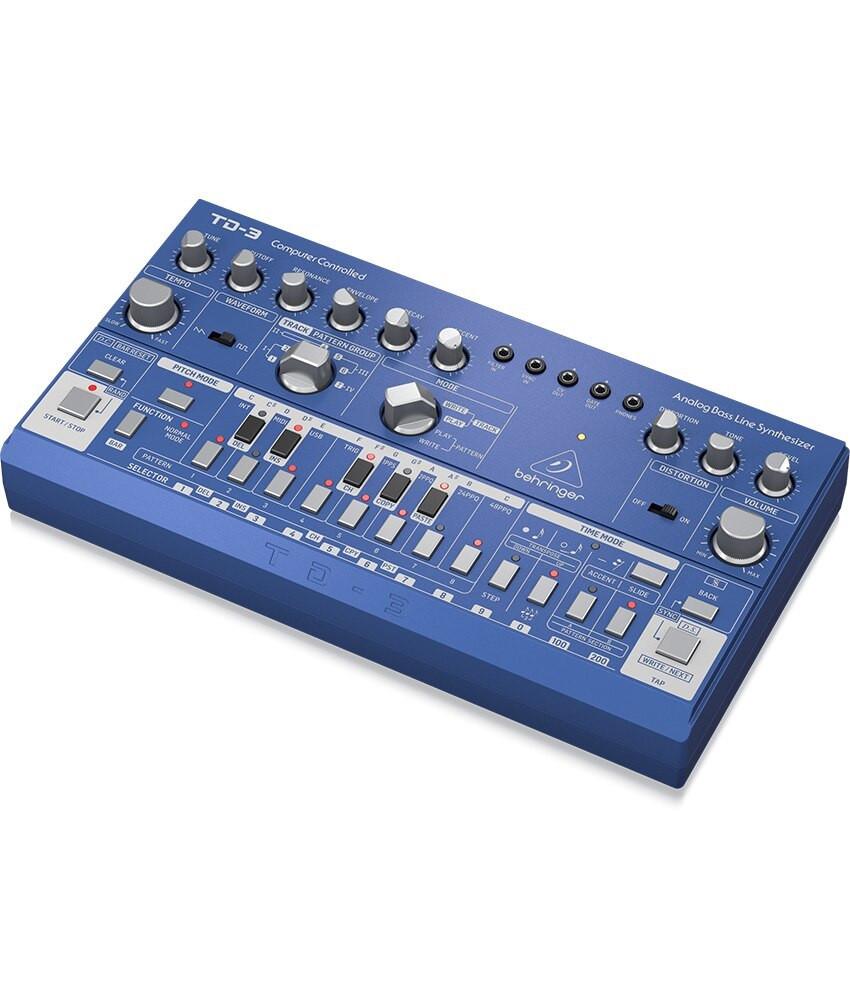 Behringer Behringer TD-3-BU Analog Bass Line Synthesizer - Blue