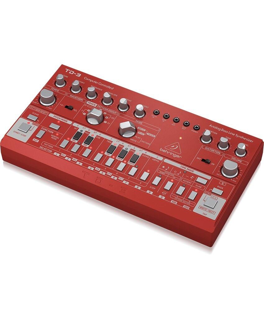 Behringer Behringer TD-3-RD Analog Bass Line Synthesizer - RED