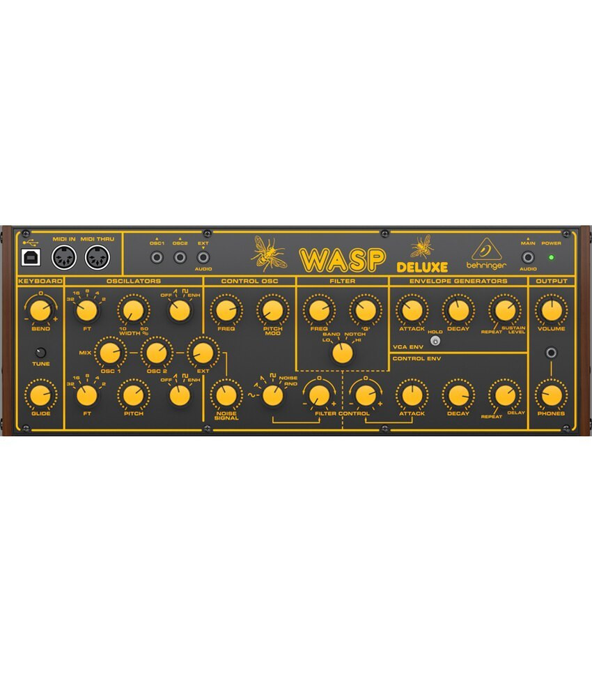 Behringer Behringer Wasp Deluxe Desktop Analog Synthesizer
