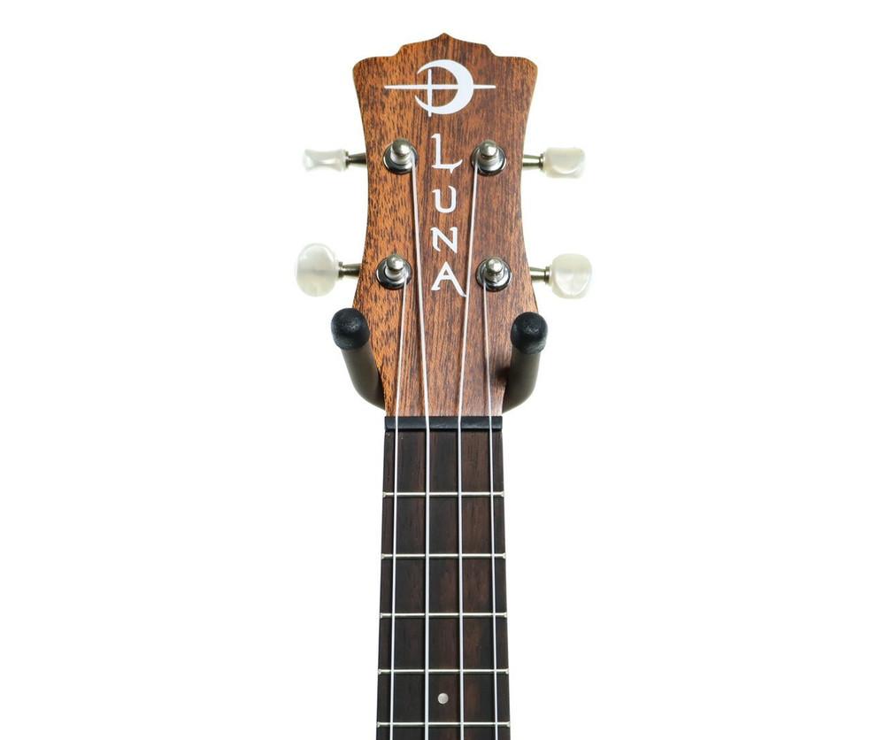 Luna Luna Love Music Peace Mahogany Soprano Ukulele