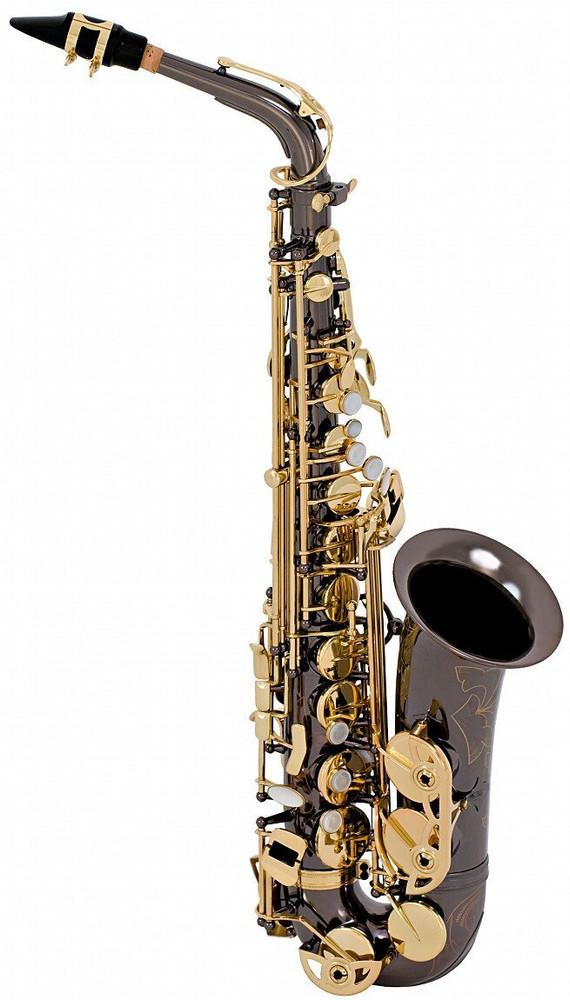 Conn-selmer Selmer SAS280RB La Voix II Alto Saxophone Black Nickel Outfit