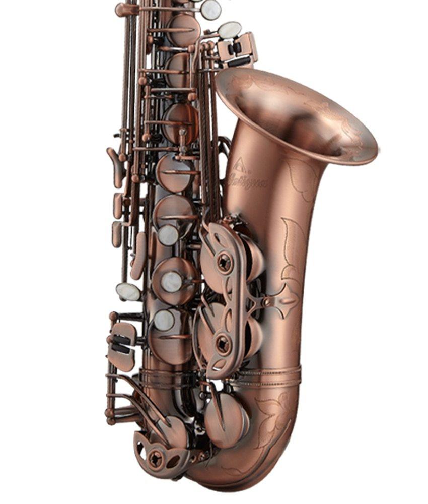 Antigua Antigua PowerBell Eb Alto Saxophone, Vintage Copper