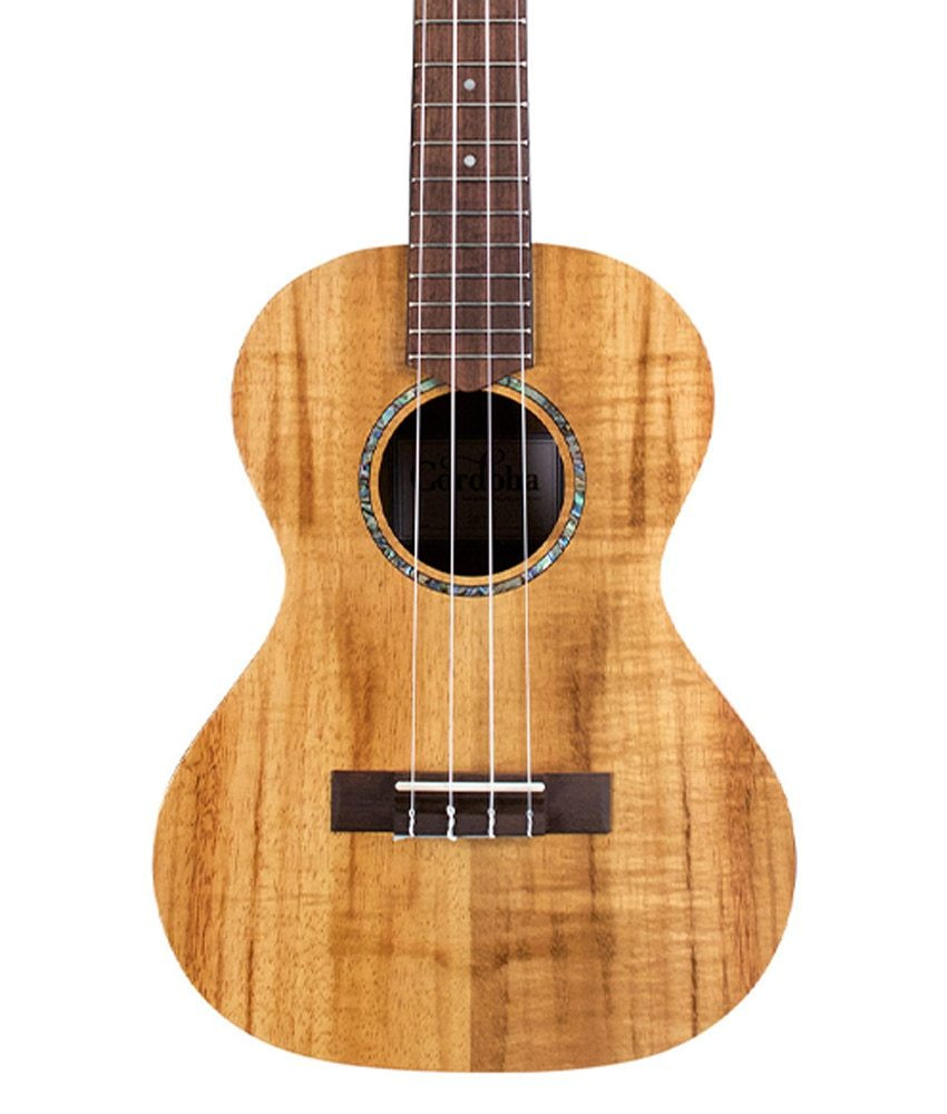 Cordoba Cordoba Tenor Ukulele 28T Hawaiian Koa - No Bag