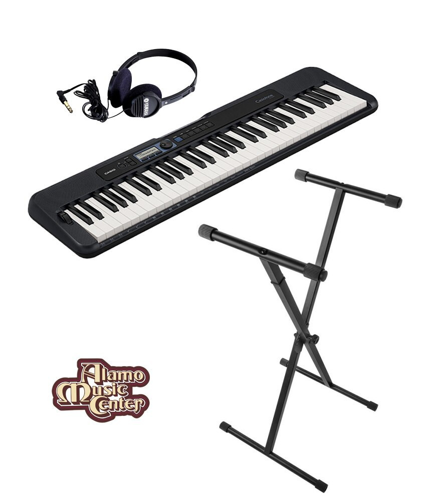 Casio Casio CT-S300 61-Key Portable Keyboard Bundle