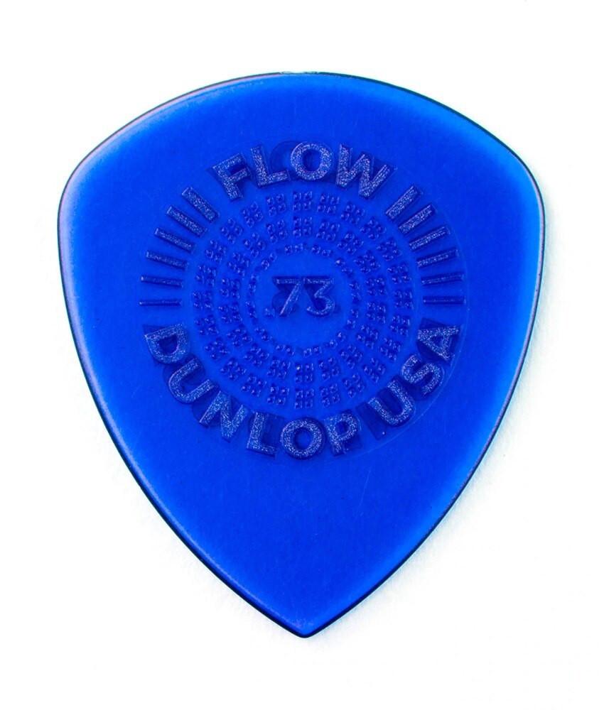 Dunlop Dunlop Flow Standard Grip 549P073 Guitar Picks - .73mm 6-pack