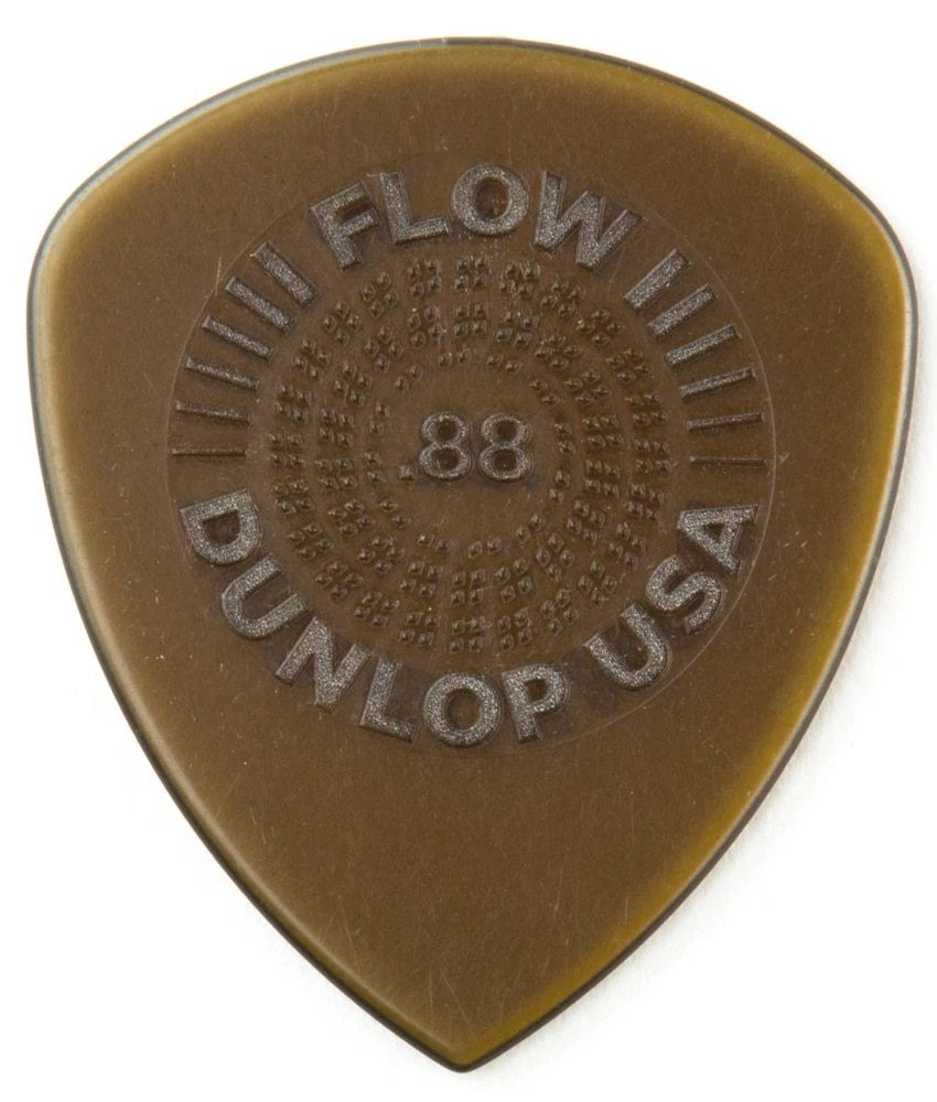 Dunlop Dunlop Flow Standard Grip Guitar Picks - .88mm 6-pack