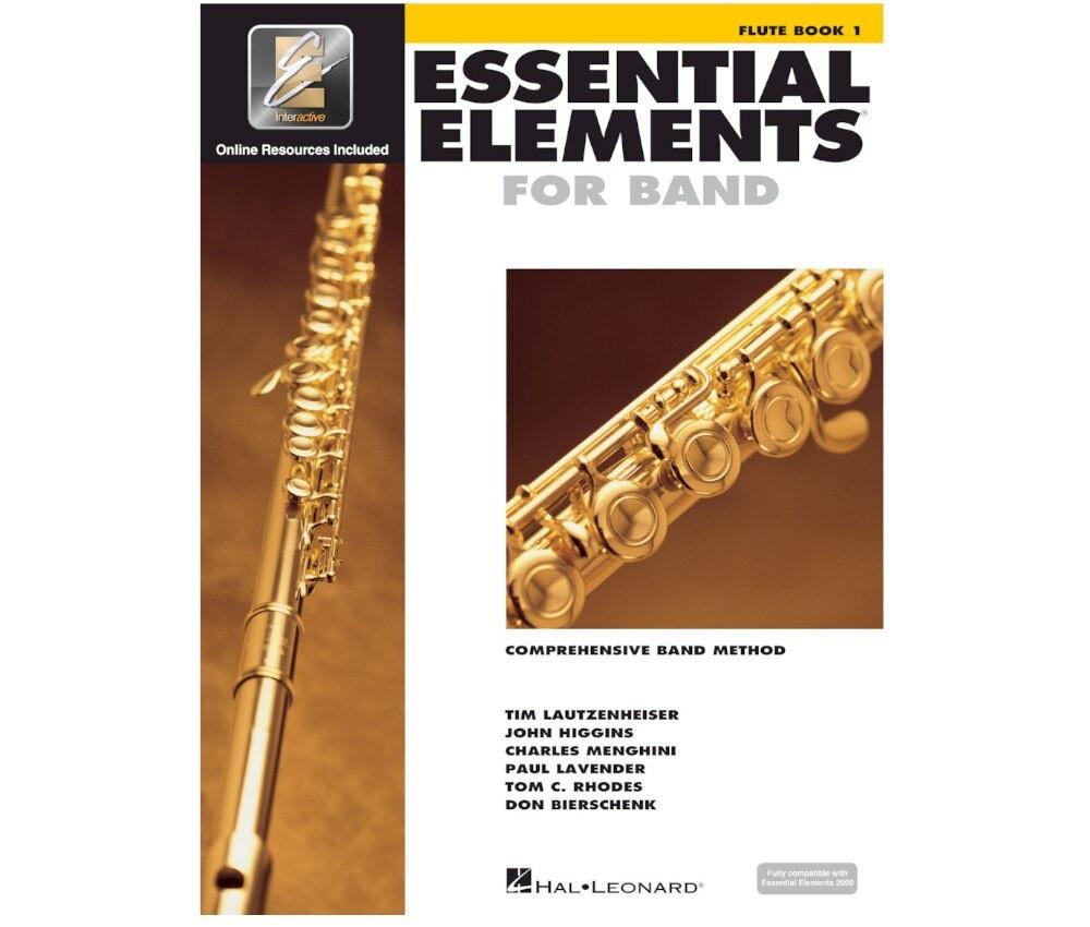 Hal Leonard Essential Elements for Band – Flute Book 1