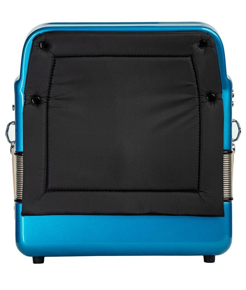 Hohner Hohner Norteno Two Tone Compact FBE/GCF, Blue Metallic