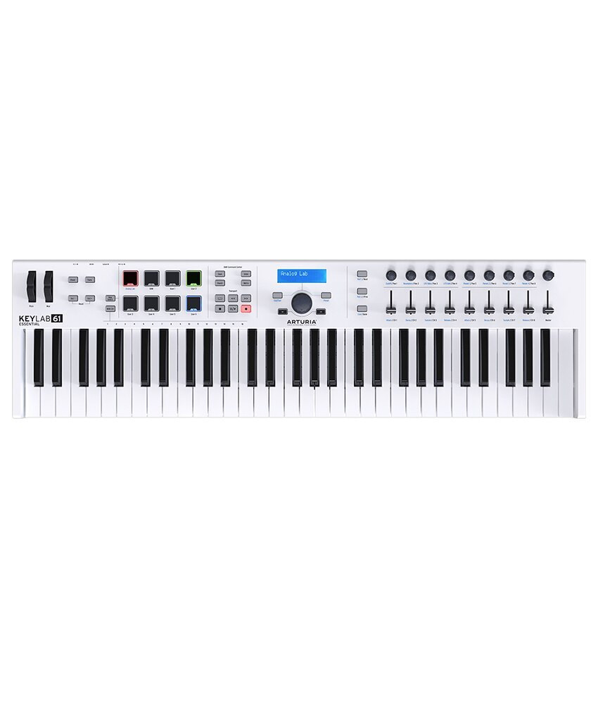 Arturia Arturia KeyLab Essential 61 Key MIDI Controller Hybrid Synth
