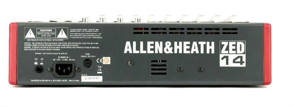 Allen and Heath Allen and Heath ZED-14 14-Channel Mixer with USB Interface