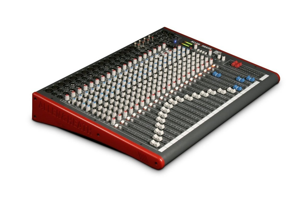 Allen and Heath Allen and Heath ZED-24 24-Channel Mixer with USB Interface