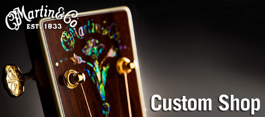 C.F. Martin Custom Shop Guitars