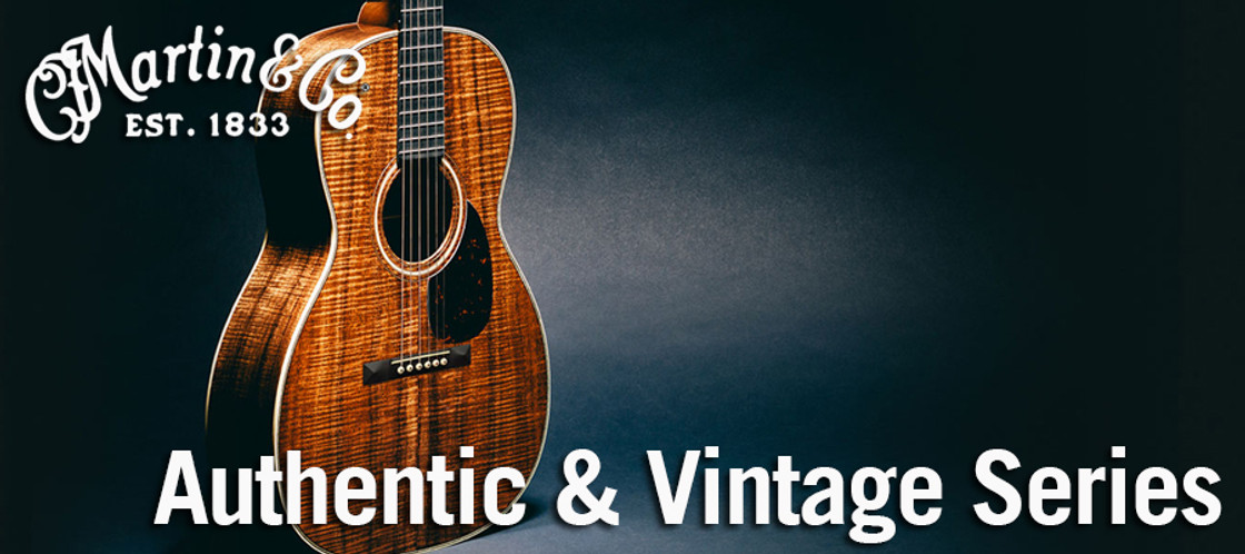 C.F. Martin Authentic and Vintage Series