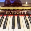 Everette Everette Mahogany Polished Studio Piano