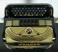 Hohner Hohner Anacleto Rey Del Norte III Accordion FBbEb Black and Gold