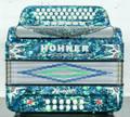 Hohner Hohner Anacleto Rey Del Norte TT GCF/EAD Accordion Green