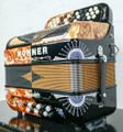 Hohner Hohner Anacleto Rey Del Norte TT FBbEb/EAD Accordion Compact Black and Gold