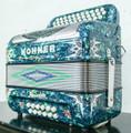 Hohner Hohner Anacleto Rey Del Norte TT FBbEb/EAD Accordion Compact Green