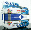 Hohner Hohner Anacleto Rey Del Norte TT G/E Accordion Compact White and Blue