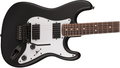 Squier Demo Fender Squier Contemporary Active Stratocaster HH, Flat Black