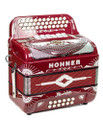 Hohner Anacelto Rey Del Norte TT Compact FBE/GCF Red and White Chrome