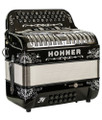 Hohner Hohner Stellar 2020 Limited Edition FBE/GCF Compact, Black Manetti Reeds