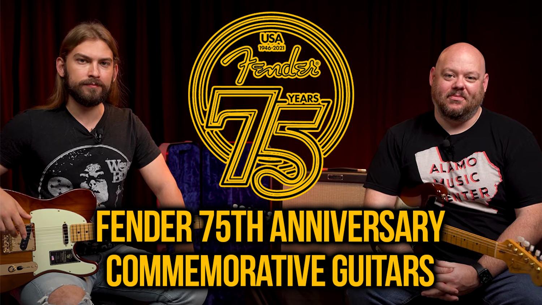 Fender 75th Anniversary Commemorative Stratocaster & Telecaster