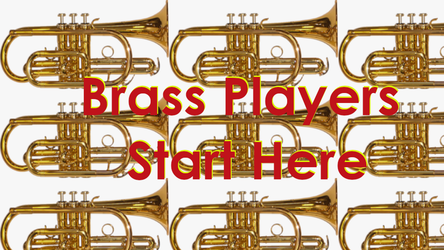 Brass Instruments - Start Here for Science, Math and Maintenance