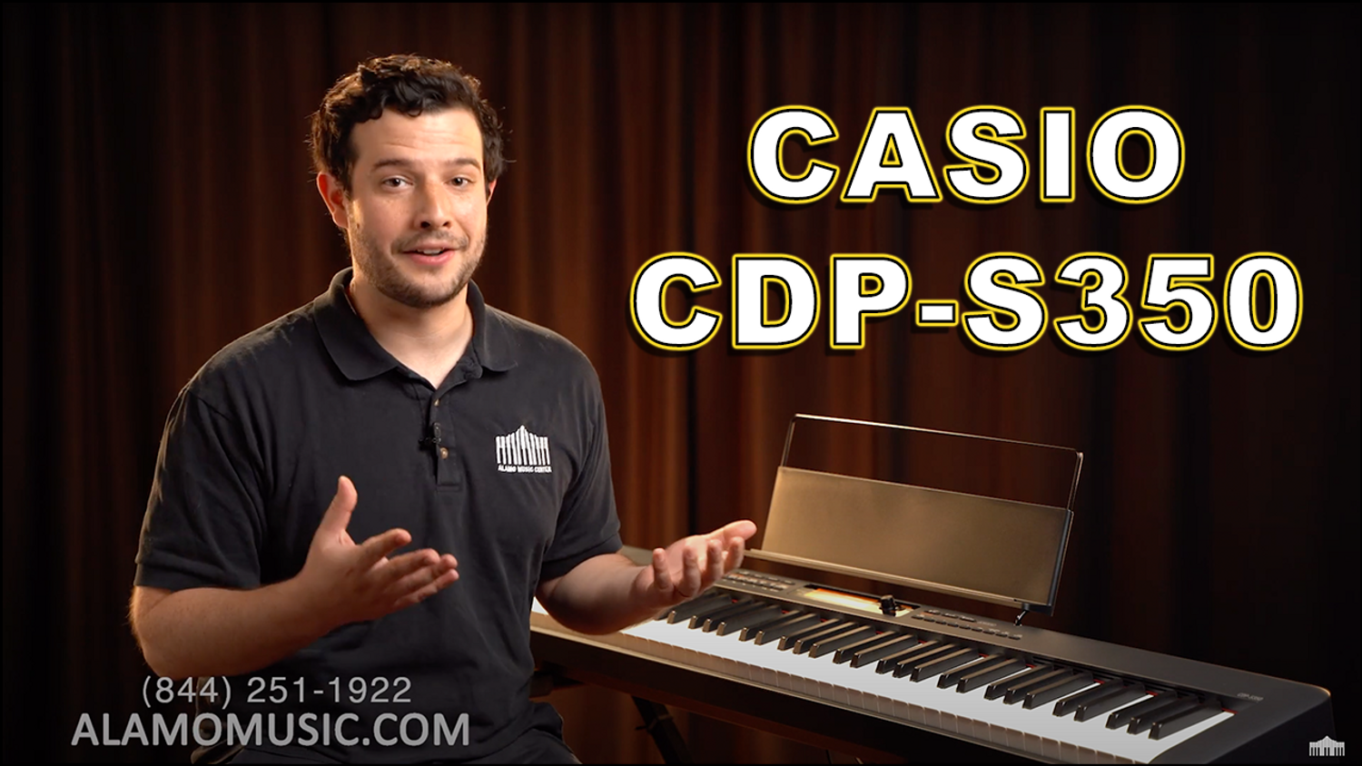 Casio CDP-S350 Keyboard Review - Best Weighted Keyboard under $600? - Packed with Sounds & Features