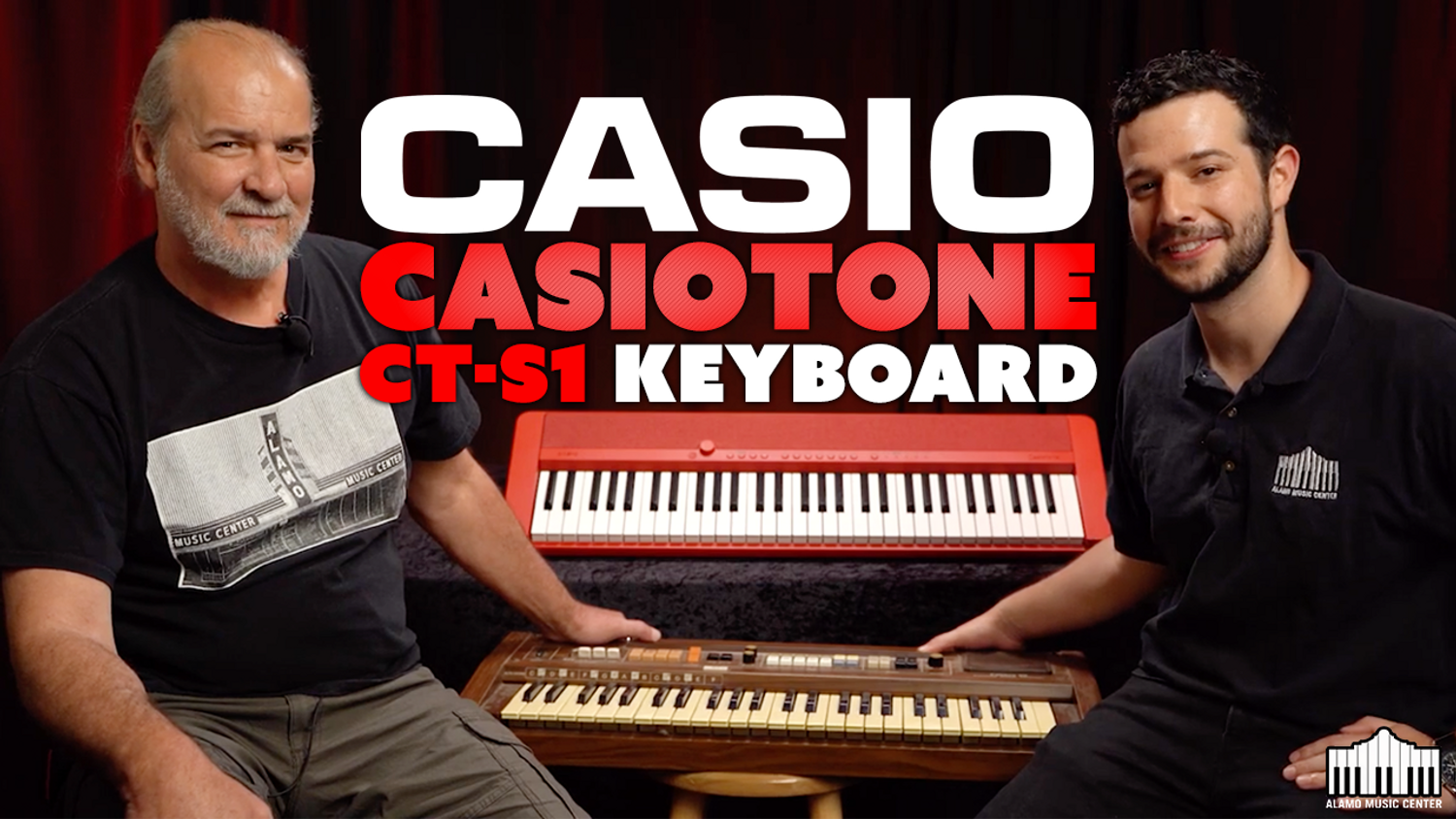 Casio Casiotone CT-S1 61-Key Portable Keyboard | Overview & DEMO
