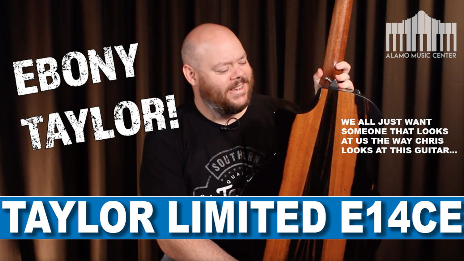 Taylor Guitars Limited Edition E14CE with beautiful Ebony Back and Sides! | Very Rare!