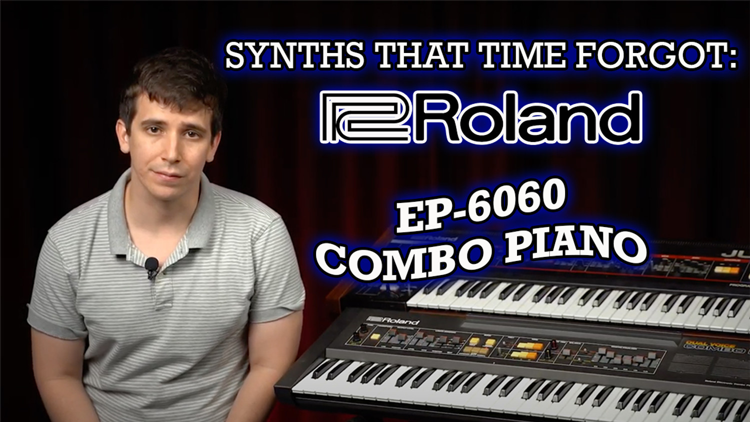 Roland EP-6060 Combo Piano: The Synths That Time Forgot