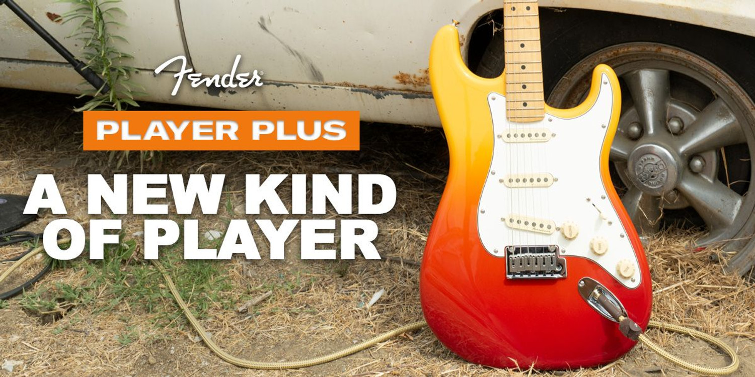 Introducing the Fender Player Plus! A New Kind of Player