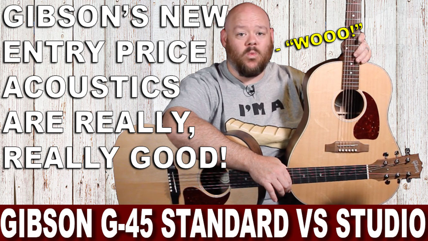 Gibson G-45 Studio and G-45 Standard Guitars Review