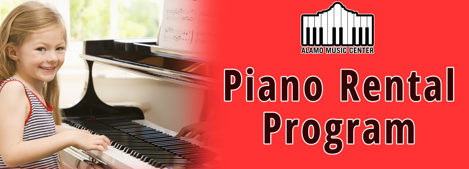 Piano Rental Program - First Month As Low As $25