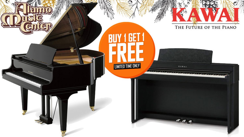 Kawai Pianos Buy One, Get One Sale!