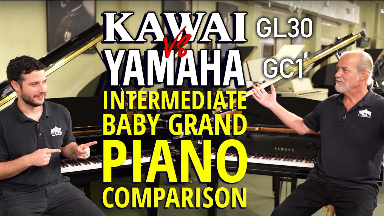 Kawai GL30 vs Yamaha GC1 - Intermediate BABY GRAND Piano Comparison