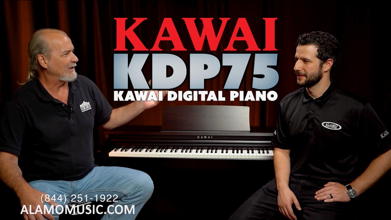 NEW Kawai Digital Piano KDP75 | Overview & DEMO